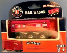Lionel Train Rare Wooden -  Mail Wagon #50259 - Heritage Series  new Thomas Brio