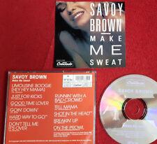 SAVOY BROWN: MAKE ME SWEAT; 11 Titel, GNP Crescendo, 1x gesp., wie neu, rar, TOP