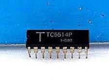 TC5514P DIP-18 ( TC5514P /AP/APL) 1024 x 4-Bit