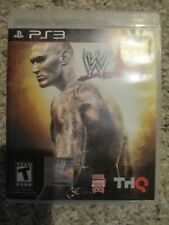 WWE '12 (Sony Playstation 3, 2011) PS3 w/ Case
