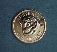 2011  $1 coin Rams Head Perth P counterstamp UNC