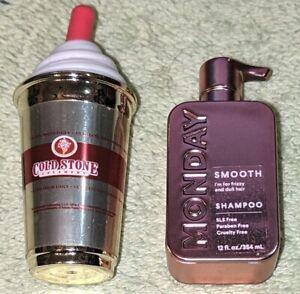 ZURU Mini Brands ULTRA RARE ROSE GOLD Monday Shampoo & GOLD Cold Stone Creamery