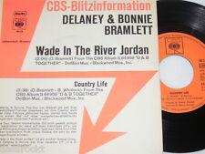 """7"""" - Delaney & Bonnie Bramlett/Wade in the River Jordan - 1972 Promo # 2650"""