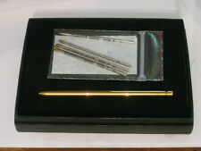 vintage mini Cartier small gold-tone pen wallet note pen