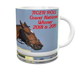 Tiger Roll Grand National  Winner 2018 2019 Awsome New 11oz Ceramic MUG