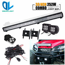 39 IN LED Light Bar Auxiliary Lamp Offroad fit for RTV KUBOTA TRACTOR 400CI 500