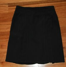 Womens Black Corporate Skirt -  Tokito City - Size 8
