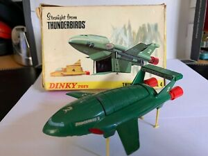 Dinky 101 THUNDERBIRD 2  Rare Emerald Green ORIGINAL BOXED