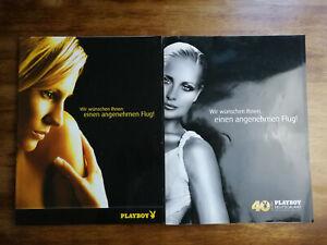 Playboy 05/2012 Sophia Thomalla und 01/2013 Flugzeug Ausgaben , Plane Cover