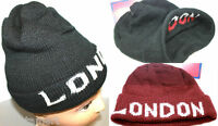 New Mens Ladies Knitted Woolly Winter Oversized Slouch Beanie Hat Cap Hats Caps