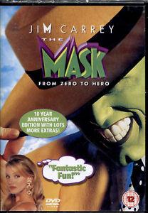 THE MASK - DVD NUOVO E SIGILLATO, FUORI CATALOGO, IMPORT IN LINGUA ORIGINALE