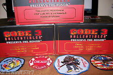 Code 3 - Chicago Fire - Squad 1A - Squad 2A - Squad 5A + free 4 fire patches