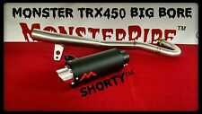 Honda TRX450 TRX 450 Exhaust   Monster Pipe  Monsterpipe single exhaust system