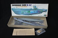 Revell sous marin bateau German SUB U-47 H-384 Lg 533 mm ancienne boite WWII