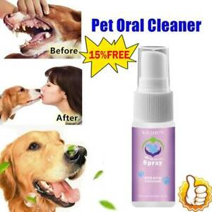 Dental Pet Spray Dog Breath Freshener Teeth Cleaner For Cats And Dogs