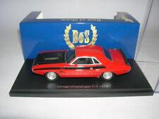 BoS Dodge Challenger T/A Baujahr 1970 rot schwarz Best of Show, 1:43 Art. 43645