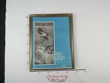 Vintage Collectible Ringling Circus 100 Yrs Book 1884-1984 Framed (Sterilized)