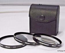 Quantaray 58mm +1, +2, +4 Lens Kit close up macro set