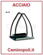 Porta legna in Acciaio da Camino Design Moderno per Portariviste Portalegna.com
