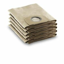 Karcher REPLACEMENT VACUUM BAGS WD3.3330 5Pcs Hard Wearing Suits German Brand