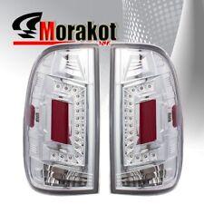 Ford F150 97-03/F250 99-07 2nd Gen Rear Brake LED Tail Light Clear Lens