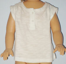 New BABY GAP Size 0-3 Months White Sleeveless Tops ~ Shirt
