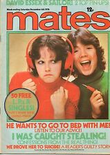 Mates Magazine 4 December 1976      David Essex     Sailor     The Real Thing