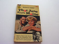 THAT JANE FROM MAINE 1959  MARVIN H. ALBERT  FABULOUS DORIS DAY MOVIE TIE-IN  VG