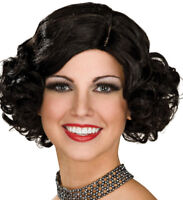 Flapper Wig classic reenactment stage historical jazz hair adult female vintage