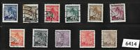 #6414   WWII  1940s Stamp set / Third Reich / Linden Leaves / Germany Occupation