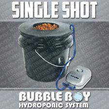 BUBBLE BOY SINGLE SHOT HYDROPONIC BUCKET POT SYSTEM DWC
