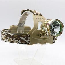 NUOVO CREE XM-L t6 LED 1800 Lumens Colore Militare Lampada Testa Lampada frontale HEADLIGHT