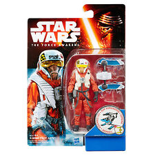 Star Wars The Force Awakens Schnee Mission 9.5cm Figur - X-Wing Pilot Asty