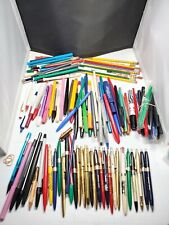 127 Piece Pen Estate Sale Lot - Pens, Pencils,Markers And More