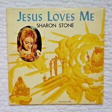 Brave Records LP-3001 Sharon Stone Jesus Loves Me lp, ULTRA RARE, SEALED MINT!