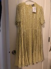 NWT ASOS Formal maternity dress In yellow,  Size 14.