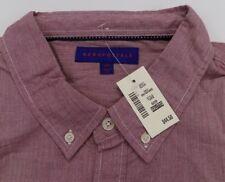 NWT Aeropostale Mens Long Sleeve Down Shirt 2XL XXL 100% Cotton Lightweight A9