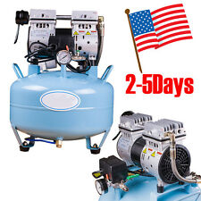 Dental Medical Silent Noiseless Oil Free Oilless Air Compressor Equipment 30L US