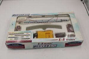 E R Models Monorail HO Scale Used 4903 Blue
