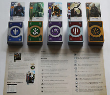 GWINT/GWENT (5 DECKS) 400 CARDS Witcher 3 Wild Hunt FULL SET (ENGLISH EDITION)