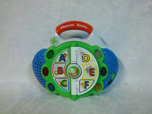 """LeapFrog Phonics Radio 7"""" Learning Toy Carry Along Educational Sound Lights Toy"""