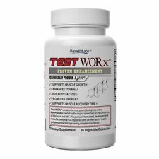 Superior Labs TEST WORx Natural Testosterone Booster With Clinically Proven L...