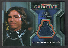 BATTLESTAR GALACTICA: COLONIAL WARRIORS (2006) COSTUME CARD #CC11 RICHARD HATCH