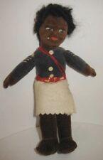 Old Black Islander Doll - Nora Wellings Felt Cloth Body