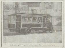 Z1935 OMNIBUS SPA - Pubblicità d'epoca - 1920 Old advertising