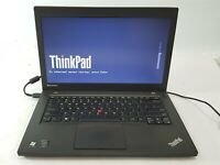 "Lenovo ThinkPad T440 14"" Laptop i5-4300U 128GB SSD 4GB RAM No OS/BAT/AC***"