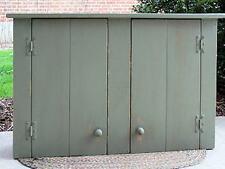 Primitive Handcrafted Wall Cupboard (Taftsville)