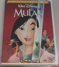 R1 DVD Disney's Mulan [DVD] [1998] [Region 1] [US Import] [NTSC] LE