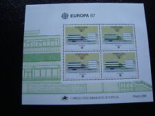 PORTUGAL (madeire) - timbre yvert et tellier europa bloc n°8 n** - stamp