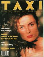 Taxi Fashion magazine August 1987 Steven White Uli Rose Lynn Kohlman 053019DBE